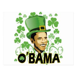 El irlandés O'Bama 2009 de St Patrick Tarjetas Postales