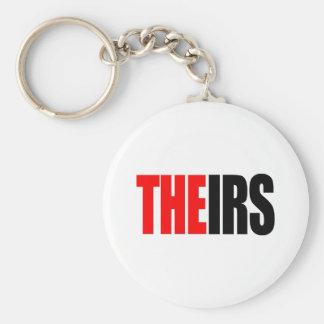 El IRS, EL SUYO camisetas Llavero Redondo Tipo Pin