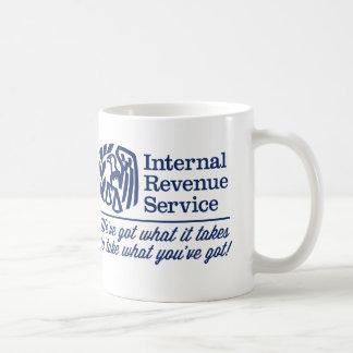 El IRS Taza Básica Blanca