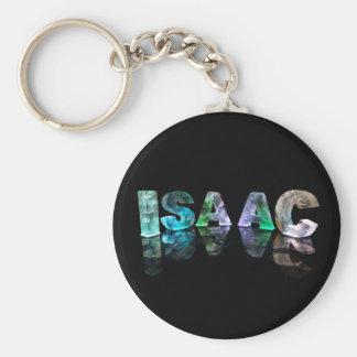El Isaac conocido en 3D se enciende (la fotografía Llavero Personalizado