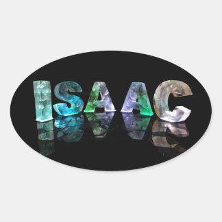 El Isaac conocido en 3D se enciende (la Pegatina Ovalada