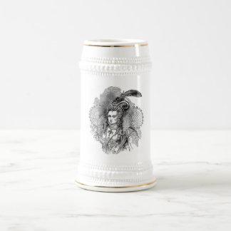 El isabelino jarra de cerveza