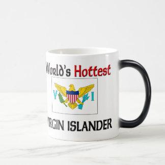 El isleño más caliente de la Virgen del mundo Taza De Café
