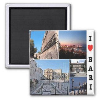 ÉL - Italia - Bari - amor de I Imán Cuadrado