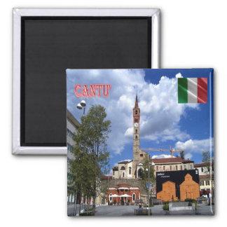 ÉL - Italia - Cantù - plaza Garibaldi Imán Cuadrado
