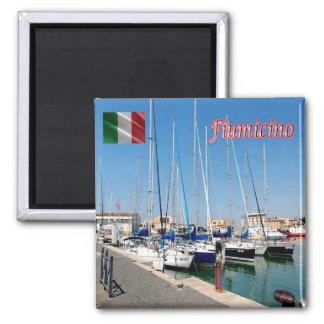 ÉL - Italia - Fiumicino (RM) - puerto Imán Cuadrado