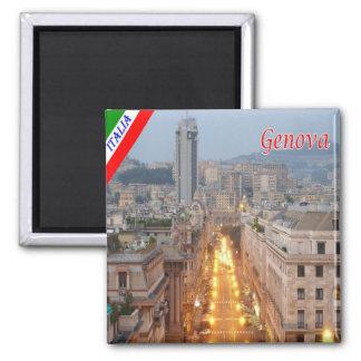ÉL - Italia - Génova - Brigata Liguria Imán Cuadrado