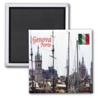 ÉL - Italia - Génova - puerto Imán Cuadrado