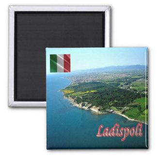 ÉL - Italia - Ladispoli (RM) Imán Cuadrado