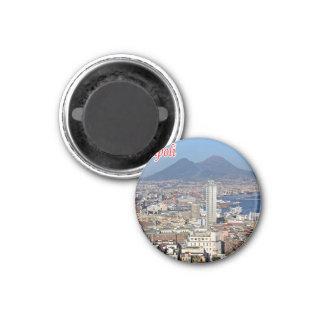 ÉL - Italia - Nápoles - centro histórico del Imán Para Frigorífico