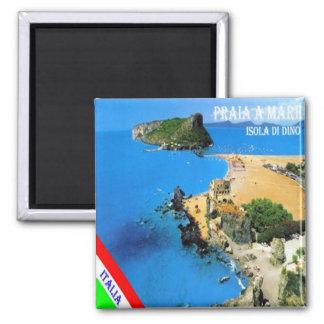 ÉL - Italia - Praia una yegua - isla de Dino Imán Cuadrado