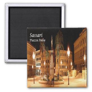 ÉL - Italia - Sassari - plaza Italia Imán Cuadrado