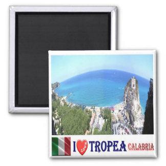 ÉL - Italia - Tropea - amor de I Imán Cuadrado