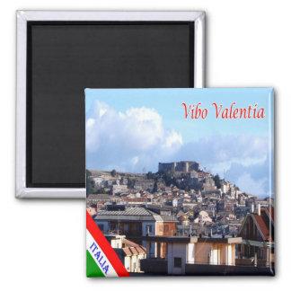 ÉL - Italia - Vibo Valentia Imán Cuadrado