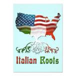 El italiano americano arraiga la invitación