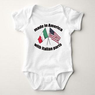 El italiano chistoso parte la camiseta unisex camisas