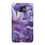 El jacinto florece la caja de la galaxia de Samsun Galaxy SII Carcasas