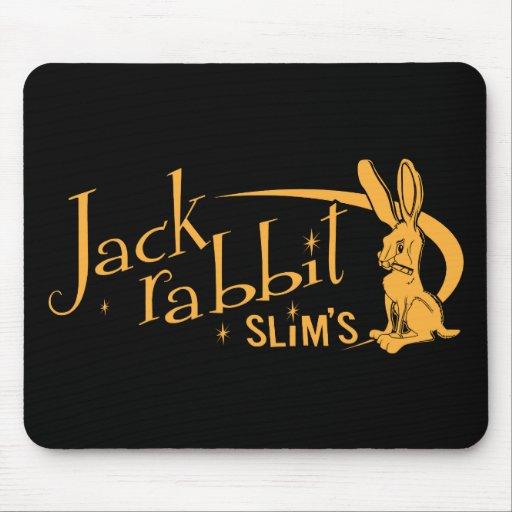 El Jackrabbit adelgaza la ficción de la pulpa Alfombrillas De Ratones