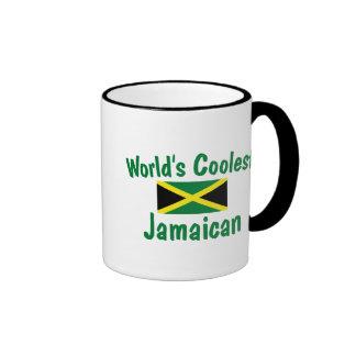 El jamaicano más fresco taza de dos colores