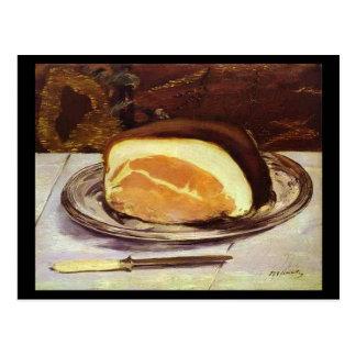 El jamón de Edward Manet Tarjetas Postales