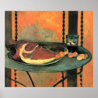 El jamón de Eugène Enrique Paul Gauguin Impresiones