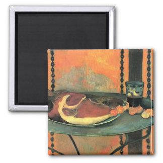 El jamón - Paul Gauguin Imán Cuadrado