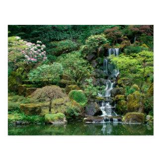 El japonés cultiva un huerto Portland, Oregon Tarjetas Postales