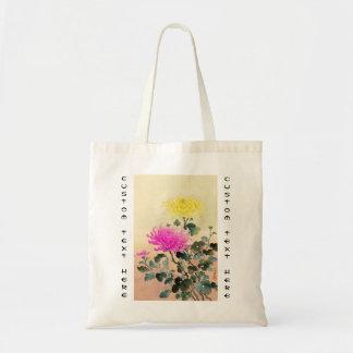 El japonés del crisantemo de Koitsu Tsuchiya Bolsa Tela Barata