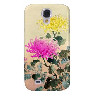 El japonés del crisantemo de Koitsu Tsuchiya Funda Samsung S4