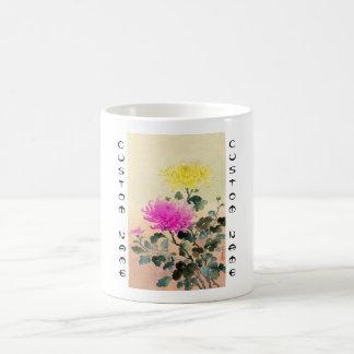El japonés del crisantemo de Koitsu Tsuchiya Taza