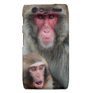 El japonés Monkeys el caso de Motorola Droid RAZR Droid RAZR Funda