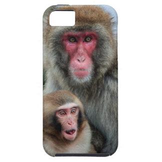 El japonés Monkeys el caso del iPhone 5 del iPhone 5 Case-Mate Carcasa