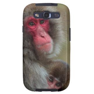 El japonés Monkeys la caja de la galaxia S3 de Galaxy SIII Cárcasas