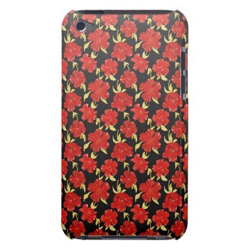 El japonés oriental fresco florece la caja de iPod iPod Touch Case-Mate Coberturas