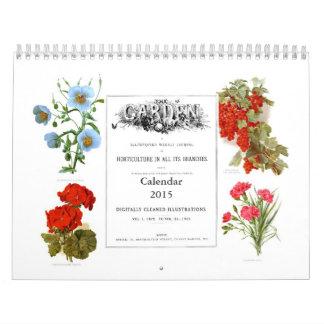 El jardín 2015 calendario