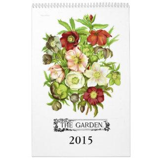 El jardín 2015 calendarios