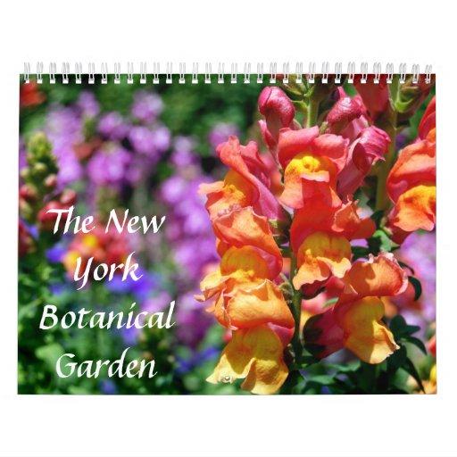 El jardín botánico de Nueva York Calendario