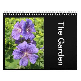 El jardín calendarios