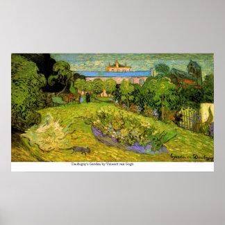 El jardín de Daubigny de Vincent van Gogh Impresiones