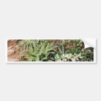 El jardín de Diane - productos del arte de Cricket Etiqueta De Parachoque