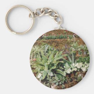 El jardín de Diane - productos del arte de Cricket Llavero Personalizado