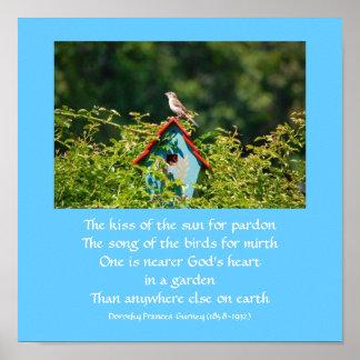 El jardín de dios (poema) - poster/impresión póster