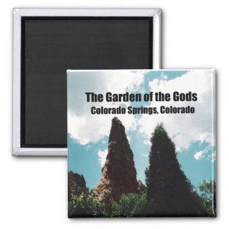 El jardín de dioses imán cuadrado