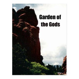 El jardín de dioses tarjeta postal