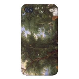 El jardín de Eden, 1659 iPhone 4/4S Carcasas