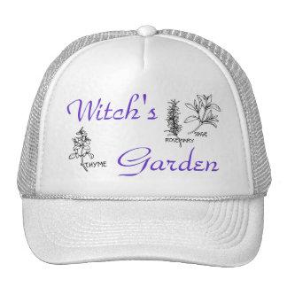 El jardín de la bruja - casquillo gorro de camionero