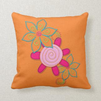 El jardín de las abuelas florece la almohada de