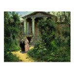 El jardín de las abuelas, por Polenow Wassilij Dim Postales