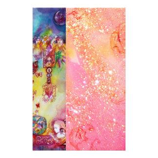 El JARDÍN DE LAS SOMBRAS PERDIDAS, oro rosado Papeleria De Diseño