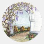 el jardín de los bekeeper pegatinas redondas